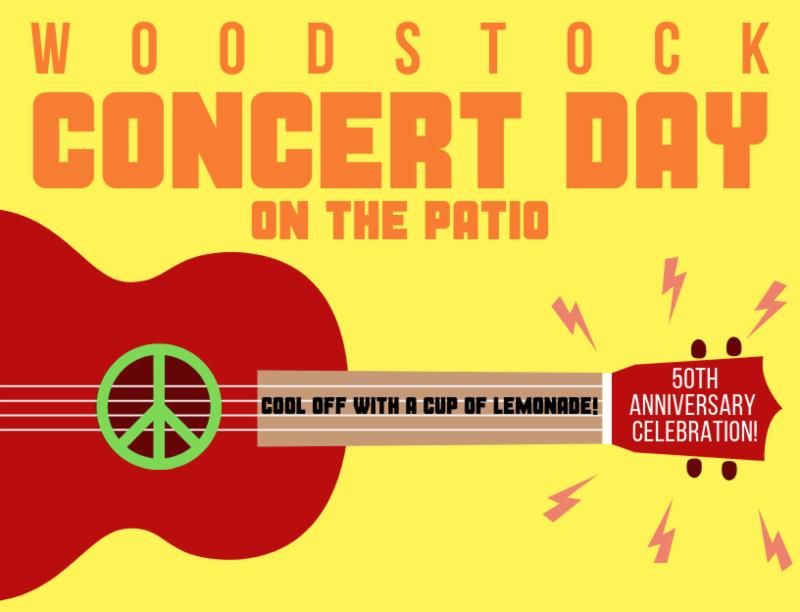 Woodstock Concert Day Program