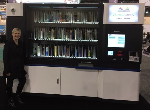 Lending Library Kiosk
