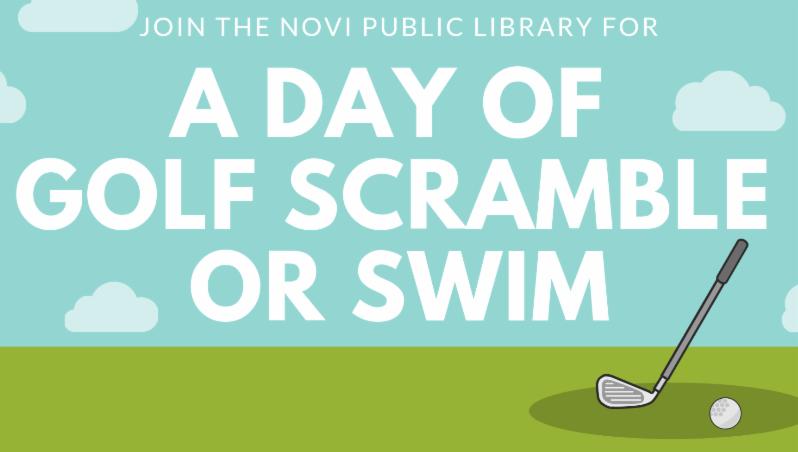 A Day of Golf Scramble or Swim Program