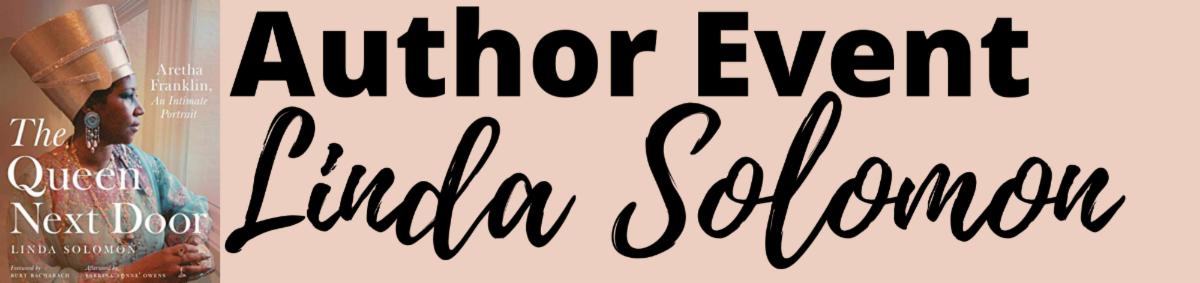 Author Event Linda Solomon Program