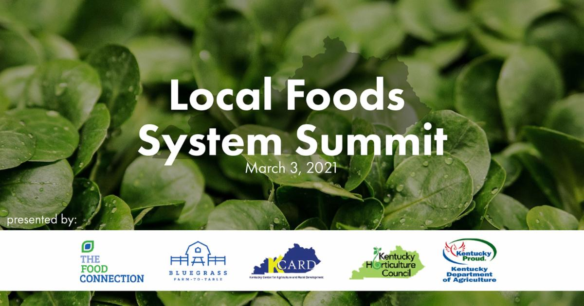 Local Foods System Summit set for March 3