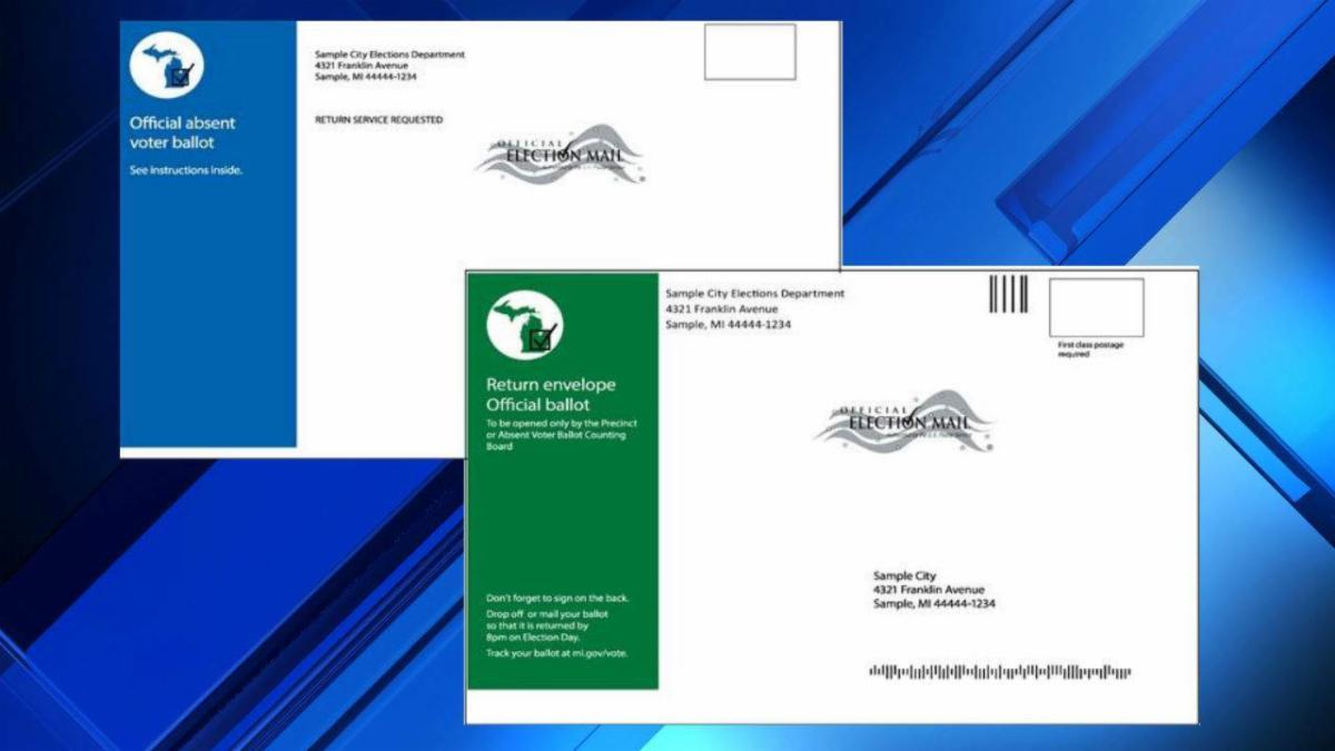 Absentee ballots get new envelopes