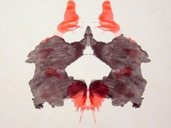 Rorschach Test ink blot