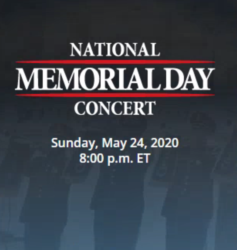 National Memorial Day Concert Logo