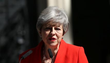 Theresa May Resignation Announcement