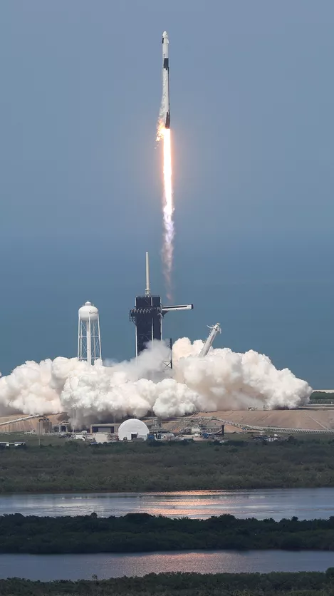 SpaceX Falcon 9 launch May 30 2020