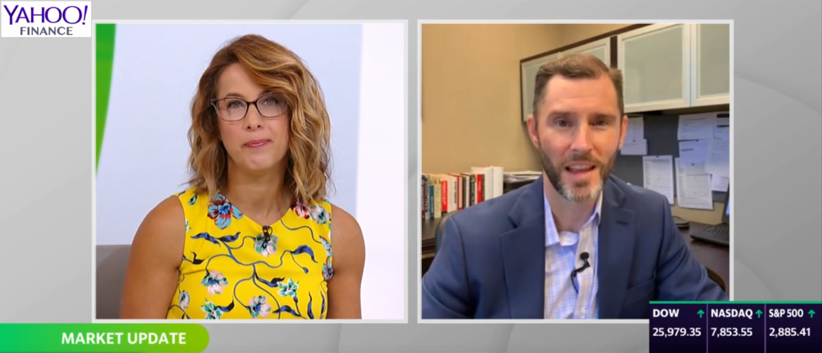 Yahoo Finance On the Move T Sweeney Interview Aug 28 2019