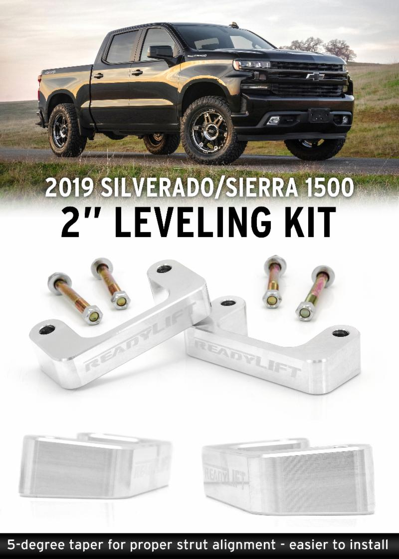 2019 Chevy Silverado Leveling Package