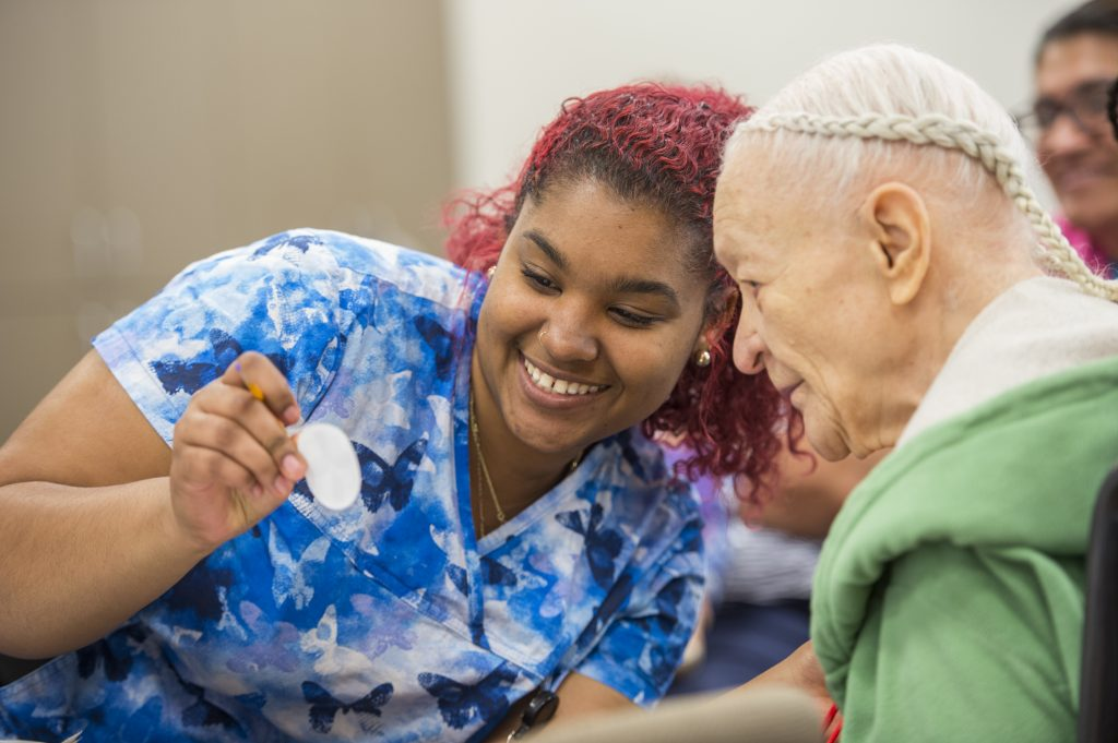 Caregiving in a PACE Center