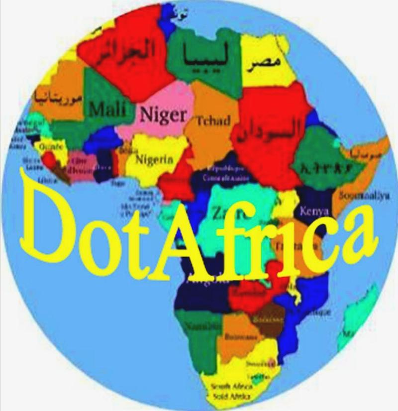 DotAfrica logo with no labels