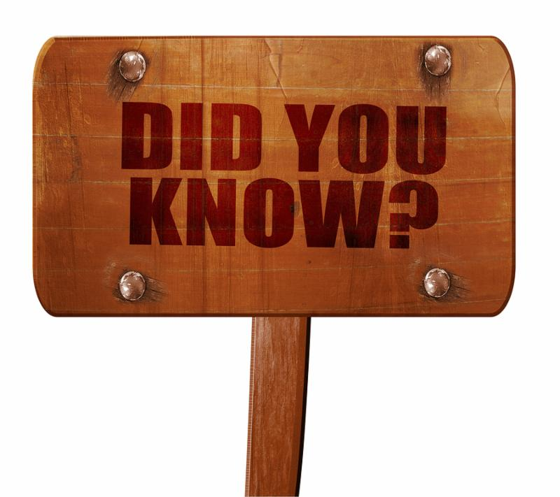 did you know_ 3D rendering_ text on wooden sign