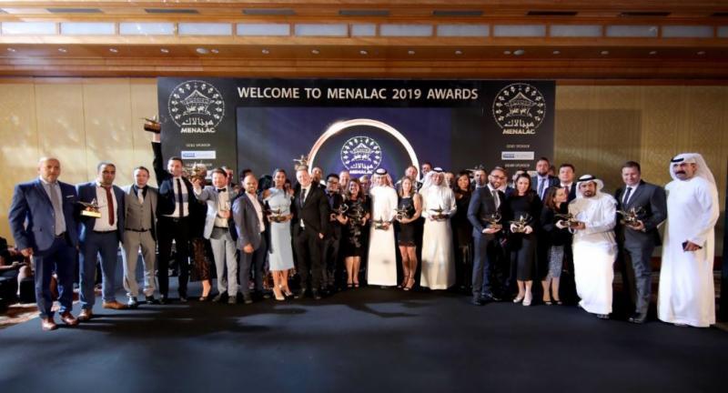 2nd MENALAC Award winners