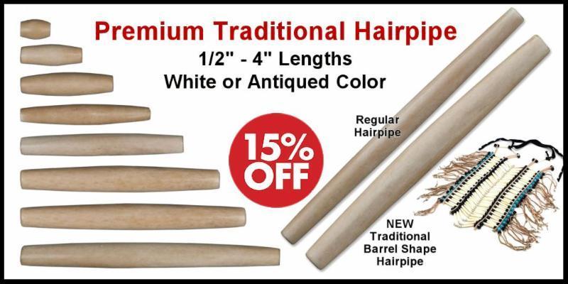 Premium Traditional Bone Hairpipe Sale