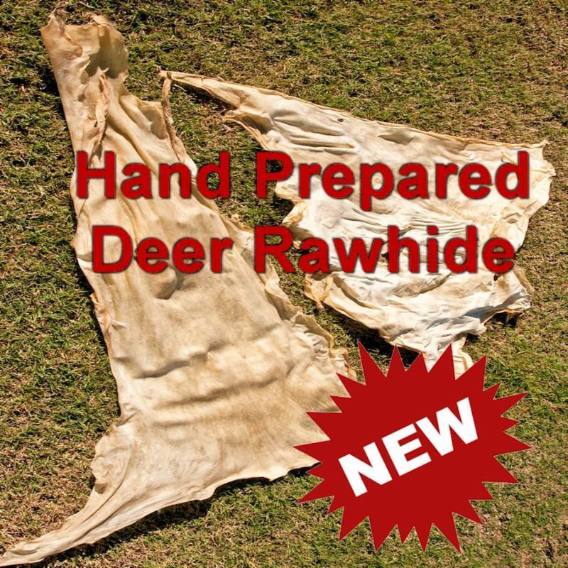 Hand Prepared Deer Rawhide