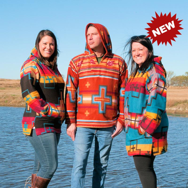 Southwest Fleece Hoodies