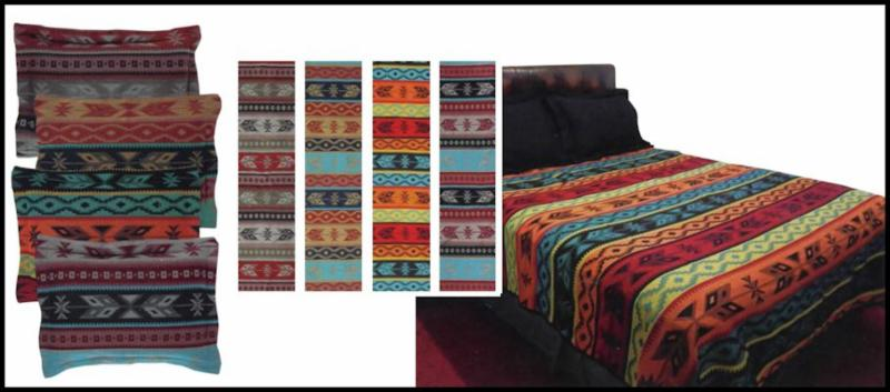 Native Bands Bedspread