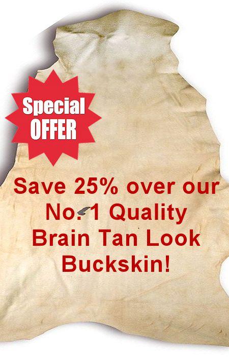 Special Purchase No. 2 Brain Tan Look Buckskin