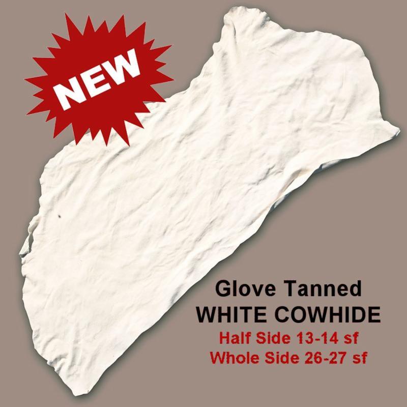 White Glove Tan Cowhide