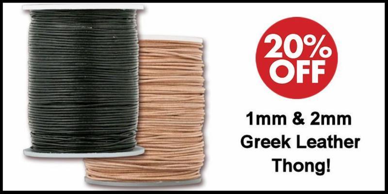 Greek Leather Cord Sale