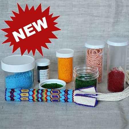 Bead containers and jars