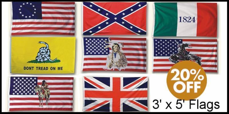 Historic Flag Sale