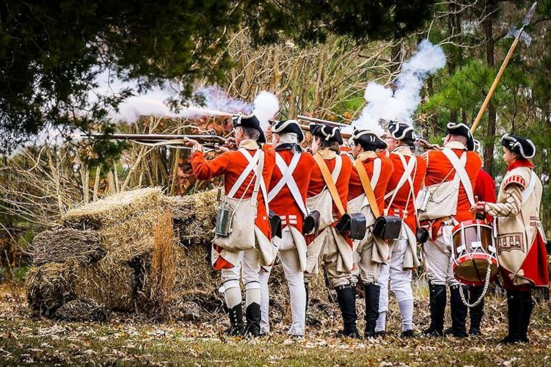 Battle of Great Bridge Reenactment