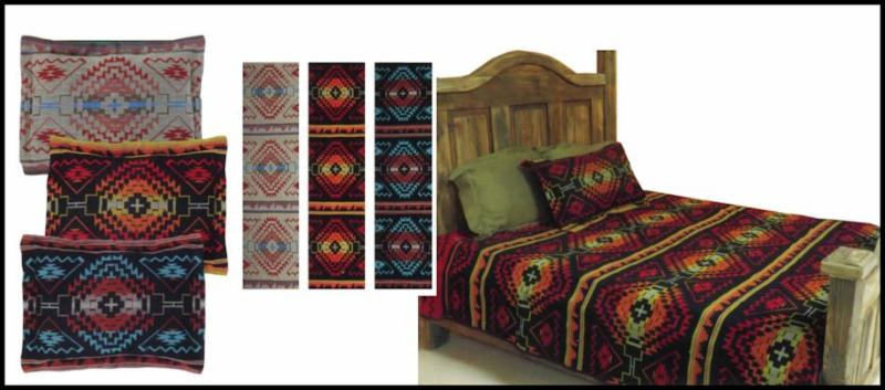 Great Mesa Bedspread  and Pillow Shams