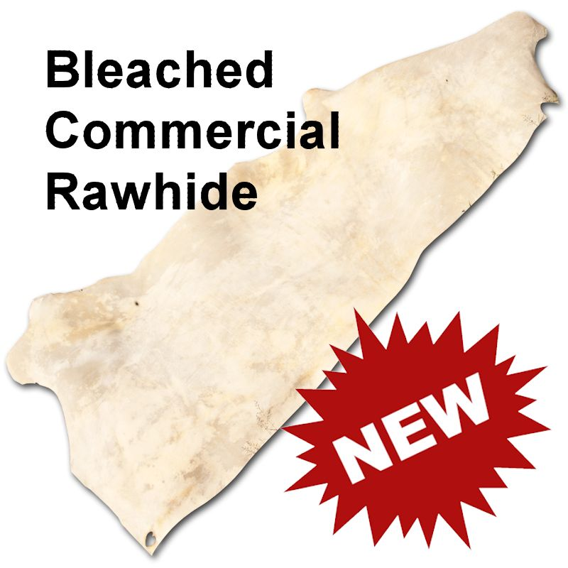 Bleached Commercial Rawhide