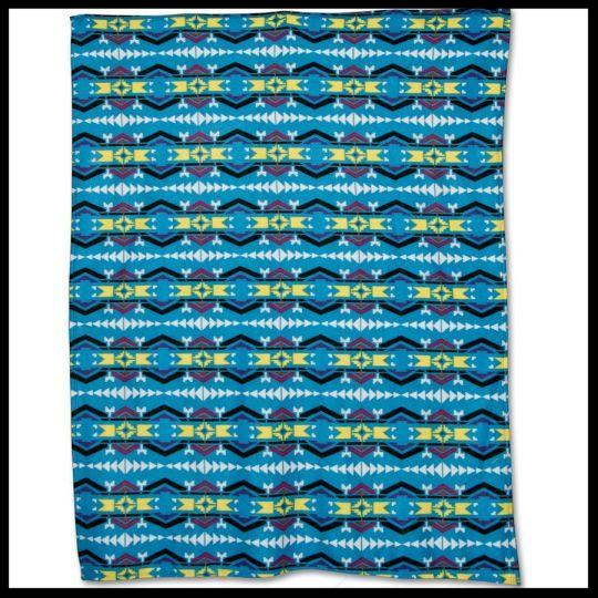 Native American Fleece Blankets - Tahlequah Trail by Missouri River