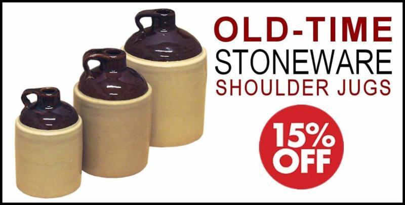 Stoneware Jug Sale