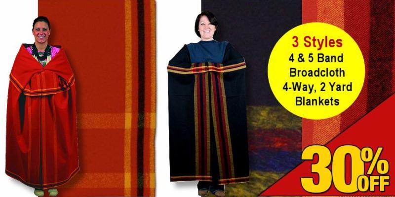 4 and 5 Band 4 Way Broadcloth Blanket Sale