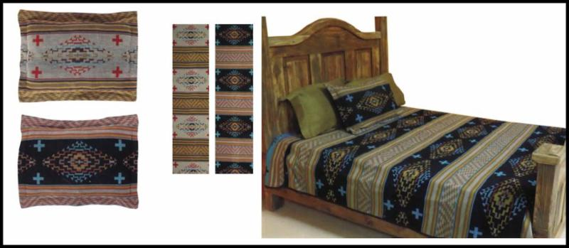 Sacred Sage Bedspread and Pillow Shams
