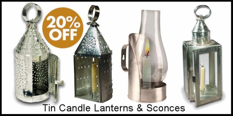 Tin Candle Lantern Sale