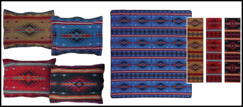 Chiefs Robe Bedspread and Pillow Shams