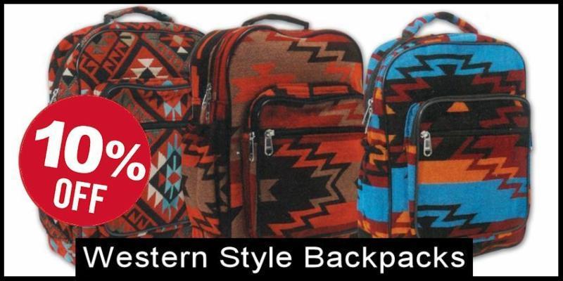 Western Style Backpacks