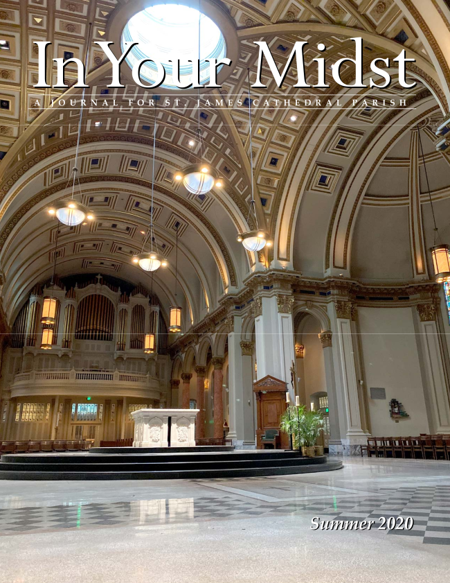 Read the Summer 2020 issue of our parish journal In Your Midst