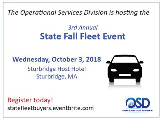 State Fleet Registration