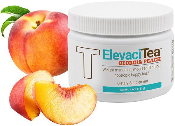 Peach Tea with Peaches