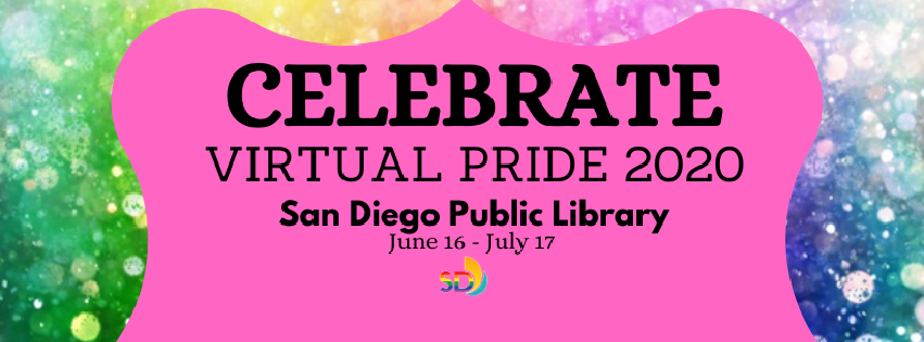San Diego Public Library Pride Banner
