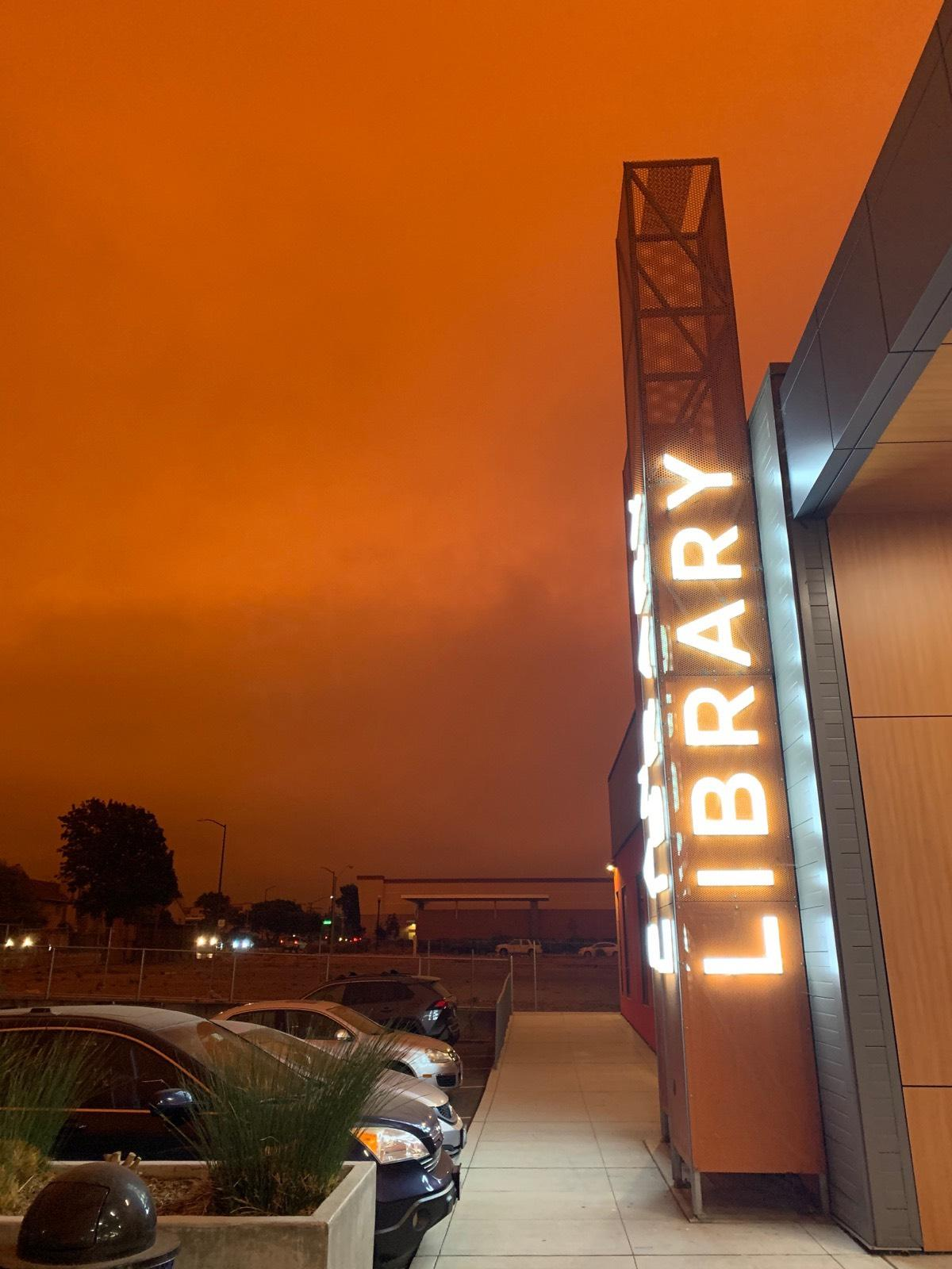 Contra Costa County Library Fires