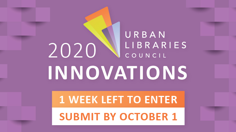 1 Week Left to Submit