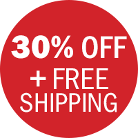 30% off plus free shipping