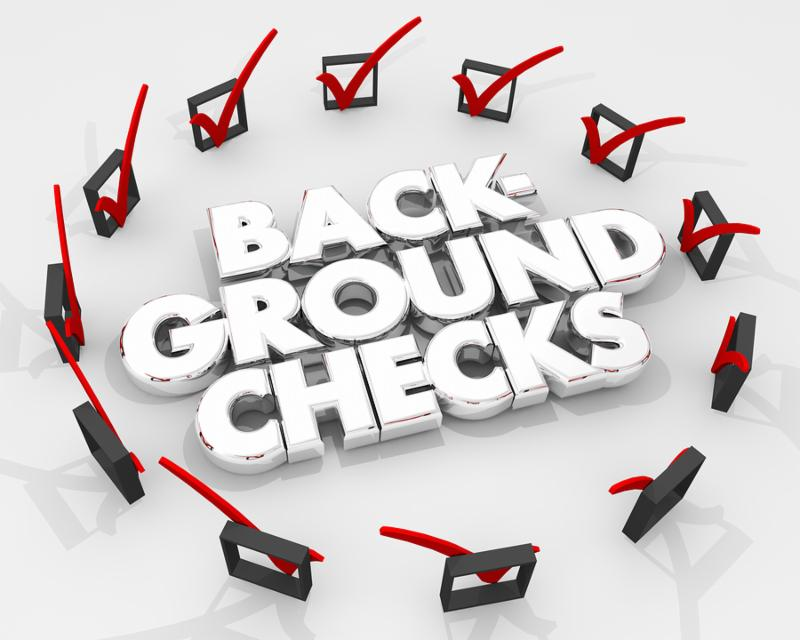 Background Checks Boxes Marks Review Evaluation 3d Illustration