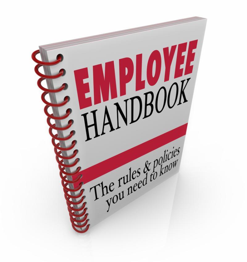 Employee Handbook Manual Rules Regulations Code of Worker Conduct