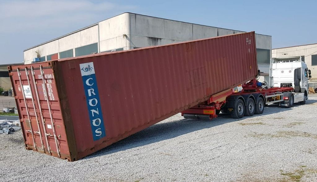 New Container Location in Netanya_