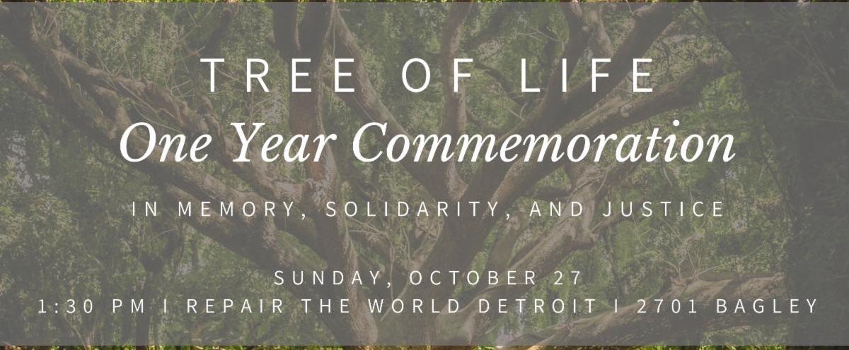 tree of life commemoration