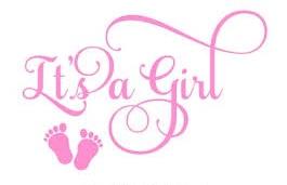 it's a girl 1