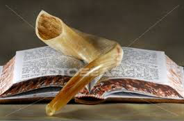 Shofar and mahzor