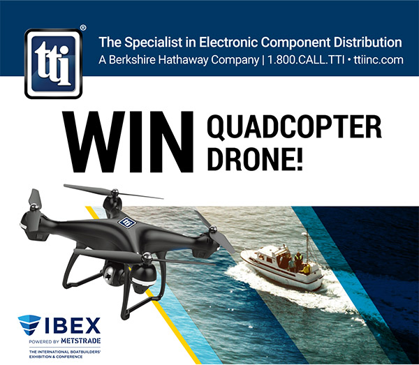 Win a Quadcopter Drone from TTI, Inc.