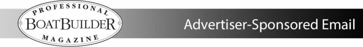 Professional BoatBuilder Magazine - Advertiser-Sponsored Email